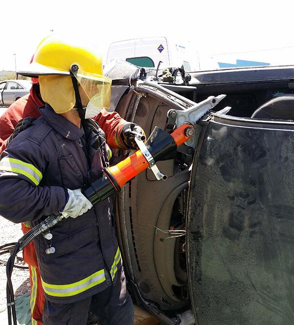 Rescate accidentes trafico