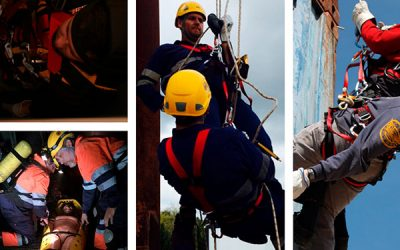 Próximo curso de Rescate en altura y espacios confinados