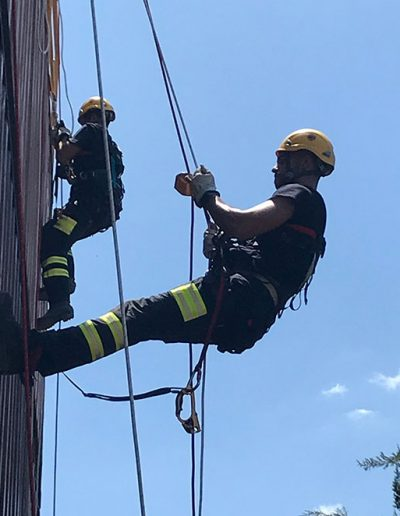 Rescate y trabajo en altura