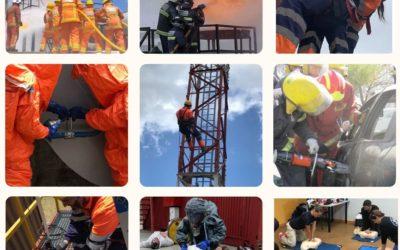 CURSO DE PREVENCIÓN, EXTINCIÓN DE INCENDIOS Y SALVAMENTO para bomberos de nuevo ingreso